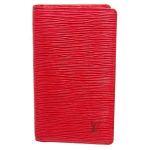 Louis Vuitton Red Epi Leather Agenda Holder Cover